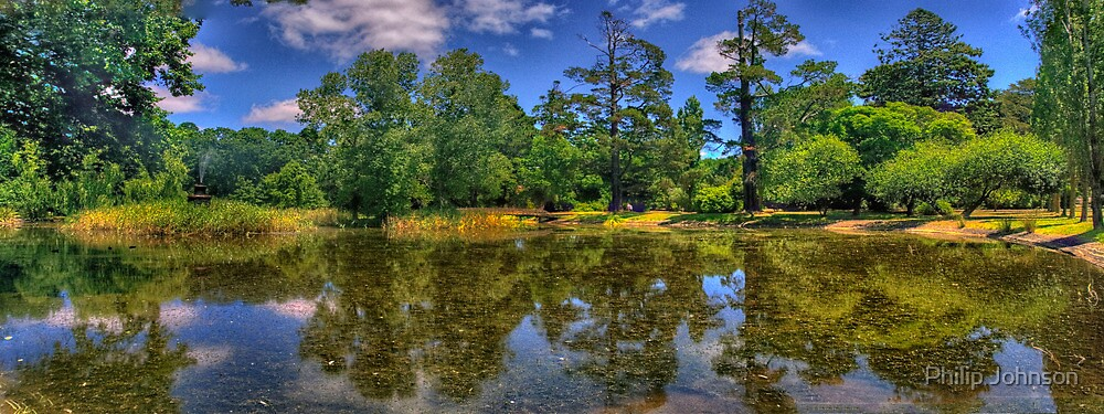 Malmsbury Reflections - Malmsbury Botanical Gardens, Malmsbury Victoria - The HDR Experience by Philip Johnson