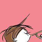 Bugle Boy Close Up by robertemerald