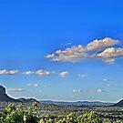 Glasshouse Mountains by hans p olsen