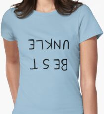 Best Unkle - Inspired by Adventure Time Womens Fitted T-Shirt
