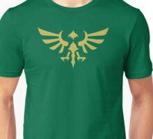 Hylian Crest (gold) Unisex T-Shirt