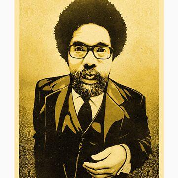 Dr Cornel West by bamanofski