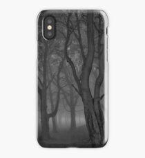 Moonlit copse iPhone Case/Skin