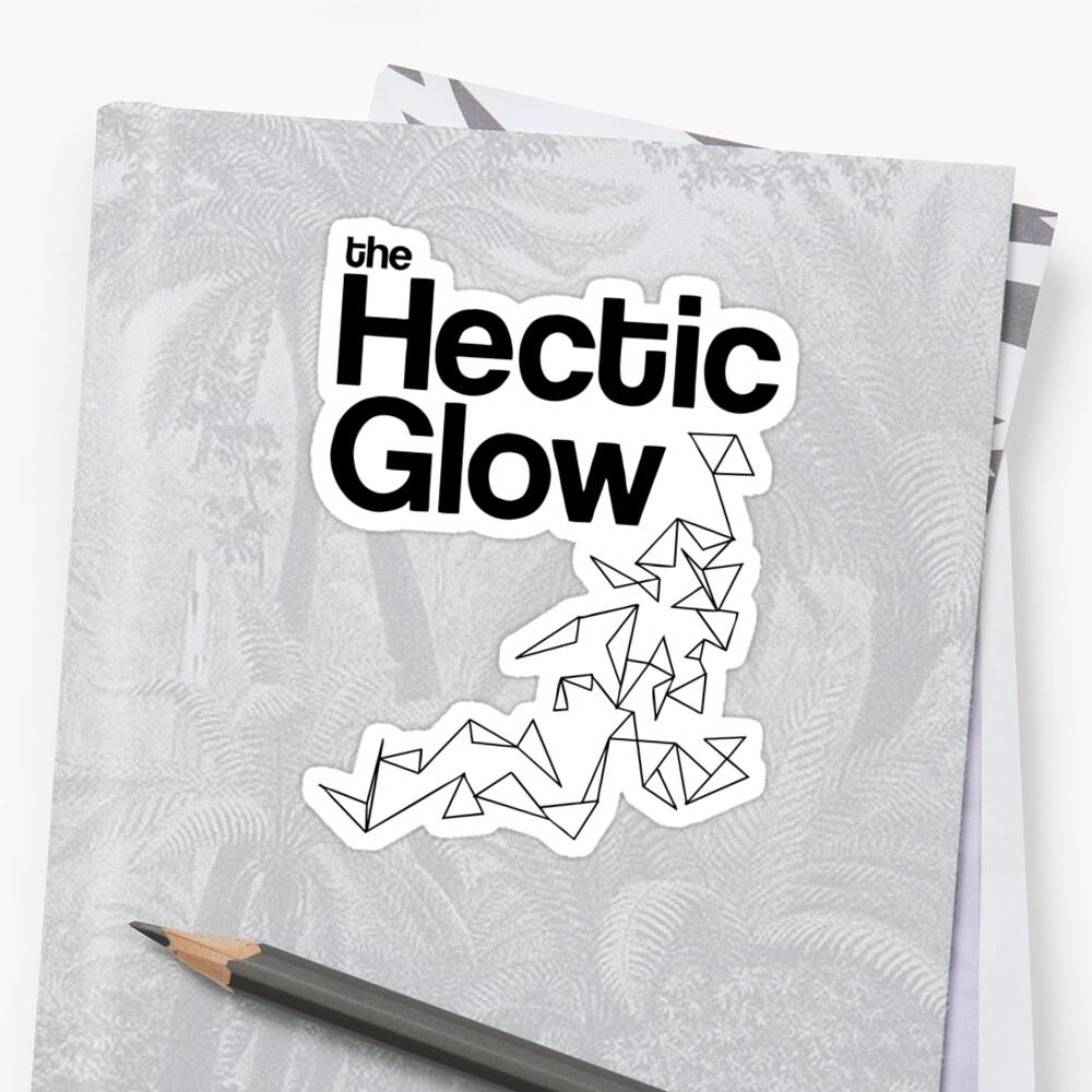 The Hectic Glow - John Green T-Shirt [B&W] by J M