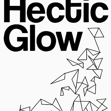 The Hectic Glow - John Green T-Shirt [B&W] by JessicaKing