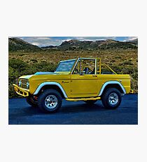 1970 Ford Bronco Photographic Print