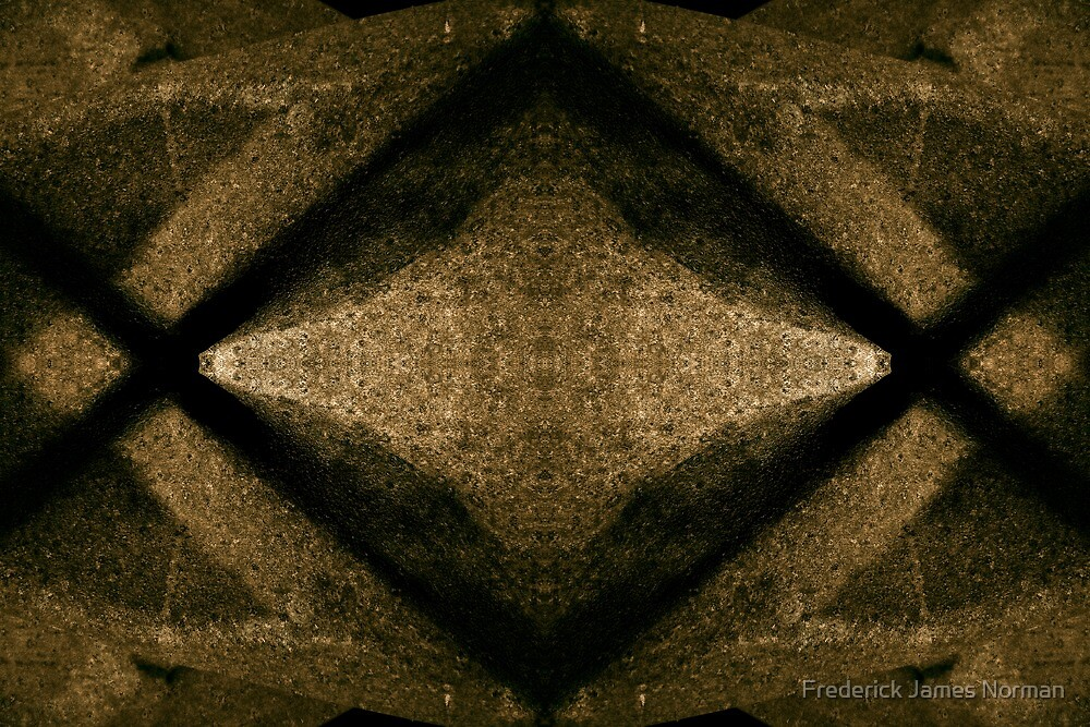 Digital Abstract # 16 by Frederick James Norman