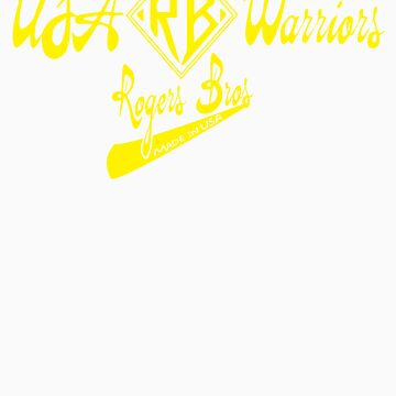 usa warriors logo by rogers bros by usawarriors