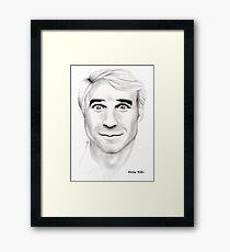 Steve Martin Portrait Framed Print