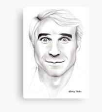 Steve Martin Portrait Metal Print