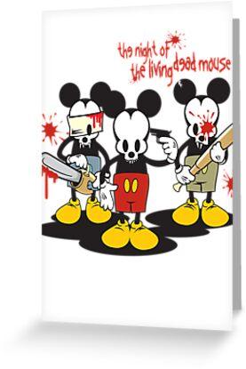 Living Dead Mickey by ullilange