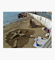 Beach ART Photographic Print