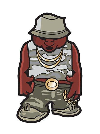 Hip Hop Gangsta by ullilange