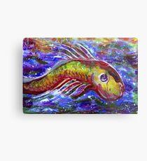 Lucky fish Metal Print