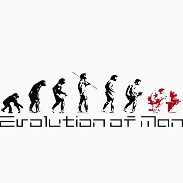The Evolution of Man by jummpy