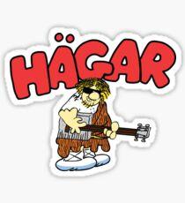 Hagar The Rockstar Sticker