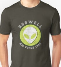 Lucky Alien Roswell Air Force 1947 T-Shirt