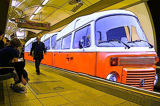 surf bus underground by southwestvision
