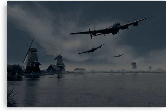 Dambusters first wave by Gary Eason