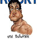 ROCKY and Bullwinkle by Wayne Dowsent