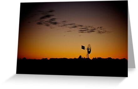 Outback Sunrise by glacierdave