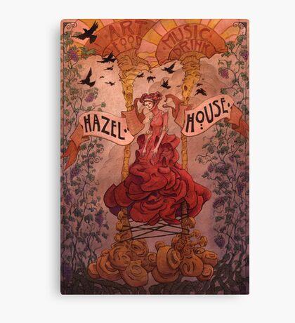 Hazel  House Canvas Print