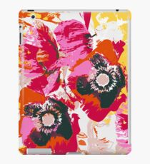 poppy wild meadow image iPad Case/Skin