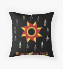 WeepingClan Avatars 2013 Throw Pillow