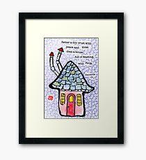 House and Home (v.5) Framed Print