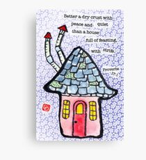 House and Home (v.5) Canvas Print