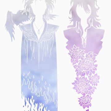 Death & Dream {Coloured} by geeksweetie