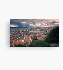 Lisbon Portrait Canvas Print