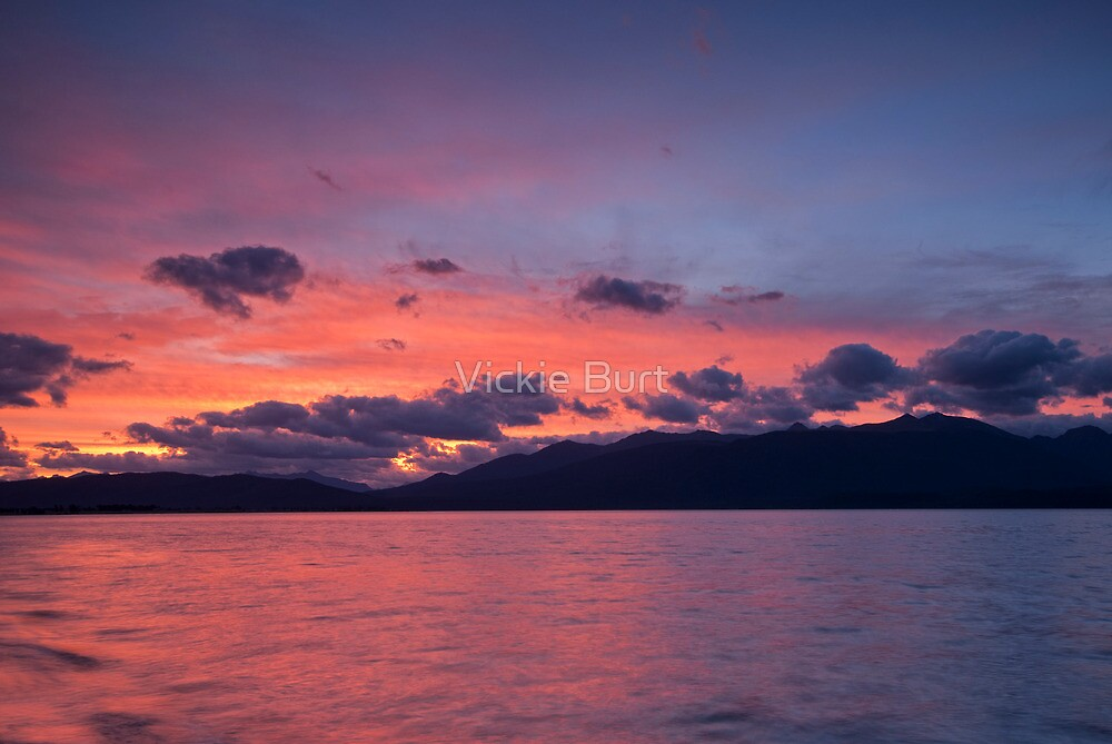 Beautiful Day's End by Vickie Burt