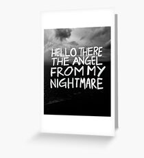 Blink 182 greeting cards redbubble angels greeting card bookmarktalkfo Image collections