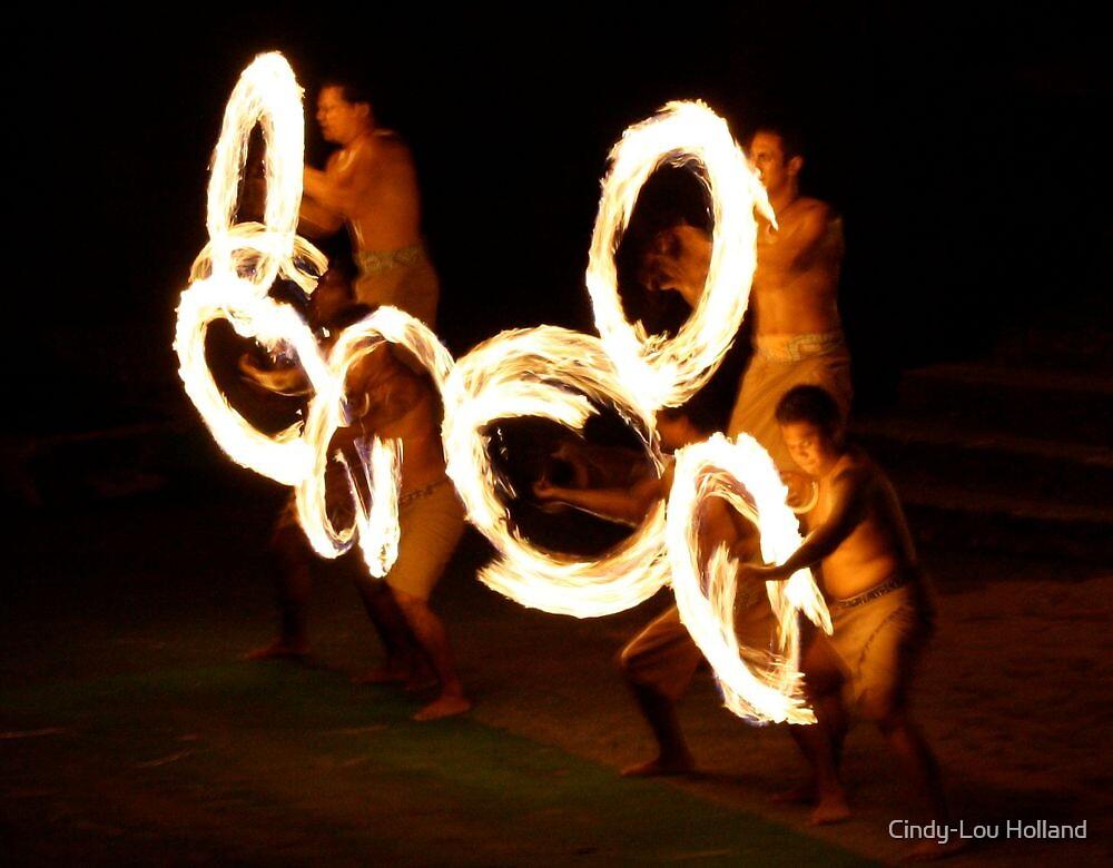 Polynesian Flame by Cindy-Lou Holland