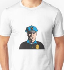 Policeman Police Officer   T-Shirt