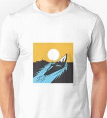 Submarine Boat Retro  Unisex T-Shirt