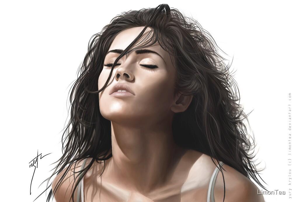 Portrait of Megan Fox by LimonTea