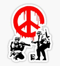 Peace Soldiers Sticker