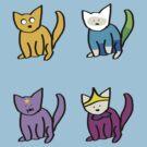 Adventure Time Kitties! (No text) by josskaty