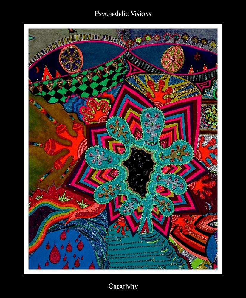 Creativity Black Ligth by MonicaDias