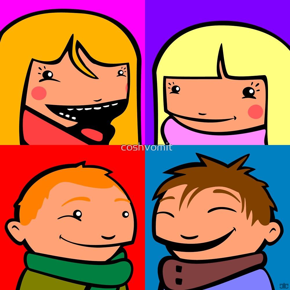 Cooper Kids Character Portrait by coshvomit