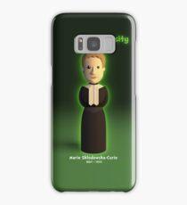 Marie Sklodowska-Curie - Curie-osity Samsung Galaxy Case/Skin