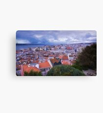 Lisbon Portrait Painterly Canvas Print