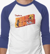 Vampires On Bikini Beach Men's Baseball ¾ T-Shirt