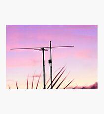 Antenna Photographic Print