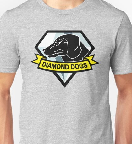 Metal Gear Solid - Diamond Dogs Unisex T-Shirt