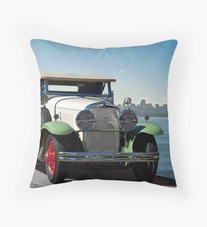 1929 Cadillac 341B Throw Pillow