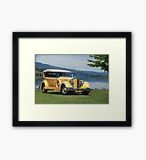 1934 Packard Touring Super Eight Framed Print