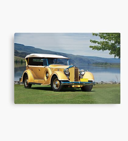 1934 Packard Touring Super Eight Metal Print